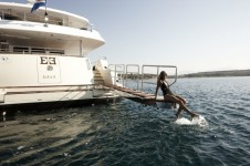 E&amp;E Charter Yacht Swim Platform